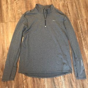 Hind Grey Quarter Zip Pullover